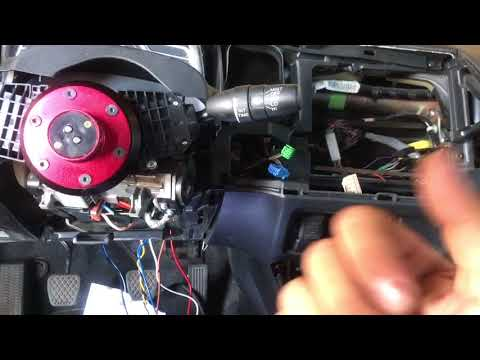 8th Gen Civic keyless push start button install