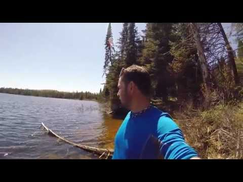 Algonquin Provincial Park Part 3 of 4 - Never Give up Mountain Biking. Solo Camping and more