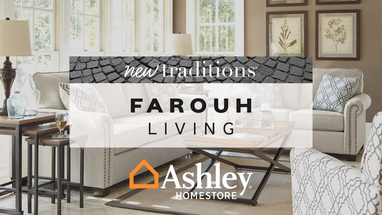 Ashley HomeStore | Farouh Living - YouTube