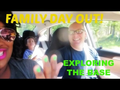 FAMILY DAY OUT   THIS BASE IS HUGE   INTERRACIAL FAMILY VLOGS