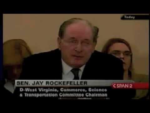 Senator Jay Rockefeller On Controlling the Internet