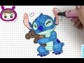 【可乐姐姐学画画】星际宝贝-史迪仔和小熊