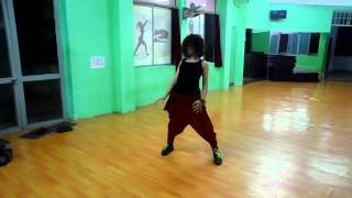 A matter of time -hiphop dance by Nhan'class