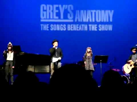 Grey's Anatomy Benefit Concert  Justin Chambers  Young Folks March 18,2012