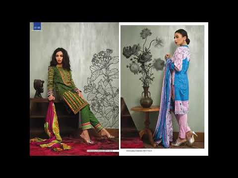 019f79ef23 Libas Mid Summer Embroidered Dresses Collection 2017 By Shariq Textiles -  YouTube