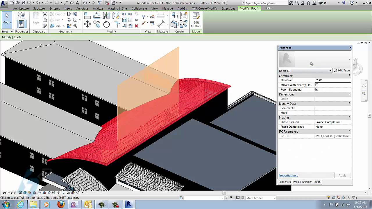 Ifc File Format Integration With Revit Youtube