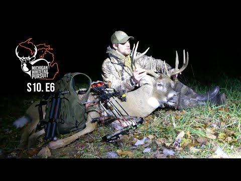 Big Michigan Bow Buck Drops In Sight And Public Land Saddle Hunt - MWP S10.E6