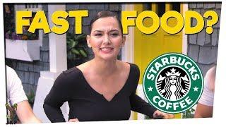 Starbucks is Fast Food!? | Pop Culture TRIVIA