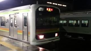 久しぶりの終電観測 八高線高麗川行最終電車.