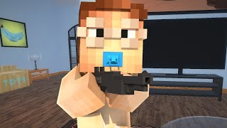 BABY MURDERS DADDY!?! - Minecraft WHO'S YOUR DADDY! (Minecraft Roleplay) #1