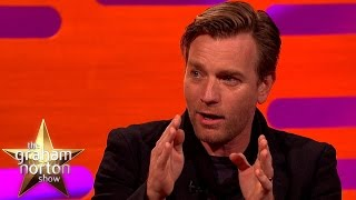 Ewan McGregor Discusses His Cameo In Star Wars: The Force Awakens - The Graham Norton Show thumbnail