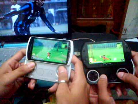 Xperia Play VS PSP Go, Tested game Naruto shippuden : Akatsuki Rising