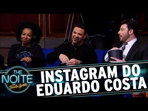 Assistindo ao Instagram de Eduardo Costa   The Noite (15/11/17)