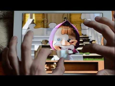 Маша и Медведь, Пазлы с Героями Любимых Мультиков, Puzzle #игрыиз YouTube · Длительность: 1 мин54 с