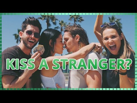 Kissing Strangers Challenge  Do It For The Dough w/ Ayydubs and Hunter March