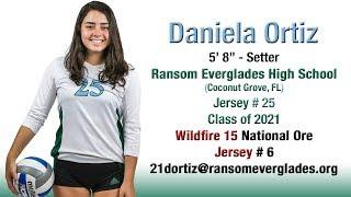 Daniela Ortiz - 2018 Club Volleyball Highlights  - Setter - 🏐🏐 Class of 2021 🏐🏐
