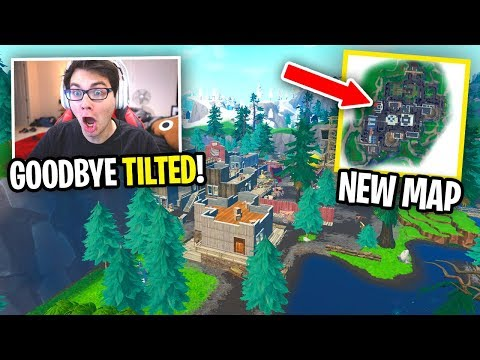 GOODBYE TILTED TOWN... (Fortnite NEW MAP UPDATE)