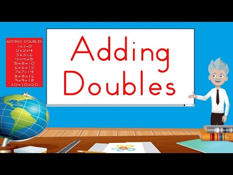 Adding Doubles | Fun Math Song For Kids | Jack Hartmann