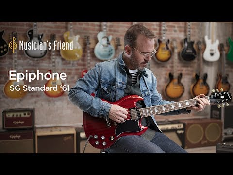 Epiphone SG Standard '61 Demo - All Playing, No Talking