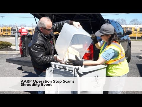 AARP Fights Identity Theft With Free Shredding Events Across