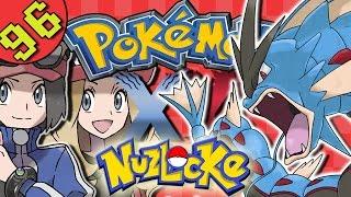 Pokemon XY Nuzlocke Gameplay | Part 96 - Survival Battle VS Lysandre & Mega Gyarados!