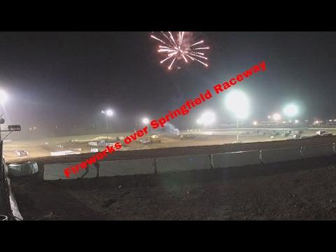 MARS Dirt Car series MARCH MADNESS 2017 Springfield Raceway
