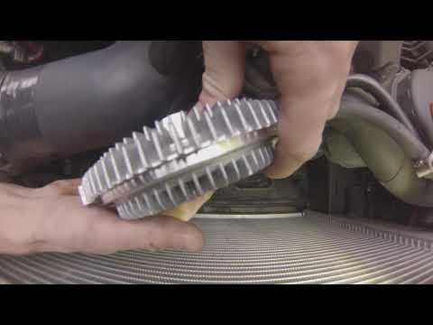 BMW E34 Viscous coupling clutch renewal thumbnail
