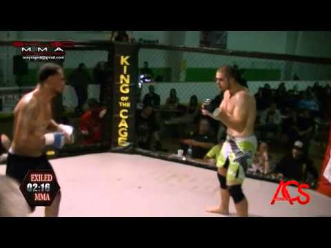 EXILED MMA and ACSLive.TV PRESENTS Dominique Avilla Vs Deon Jewel