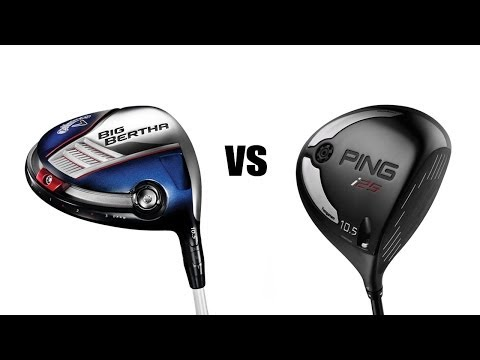 Callaway Big Bertha Driver Vs Ping I25 Driver Comparison And Review
