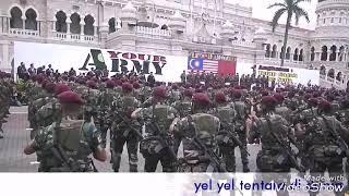 yel yel terhebat tentara di dunia