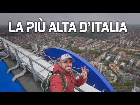 Sul 50° piano della Torre Allianz di CityLife, Milano