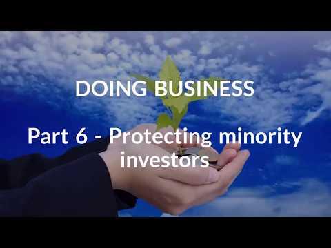 Doing Business 2017_ Part 6: Protecting minority investors