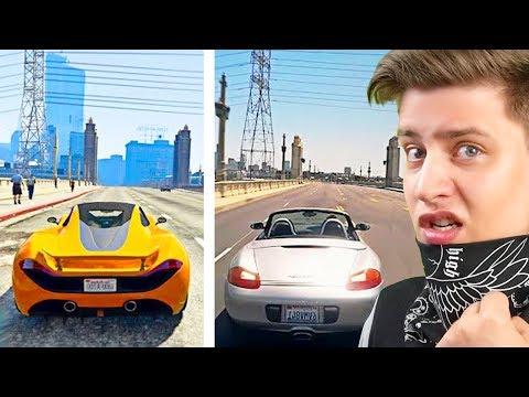 НЕВООБРАЗИМАЯ GTA 5 Vs. РЕАЛЬНАЯ ЖИЗНЬ! (HypeR)