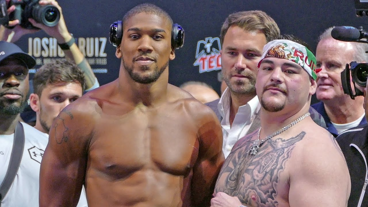 Anthony Joshua Vs Andy Ruiz Full Fight