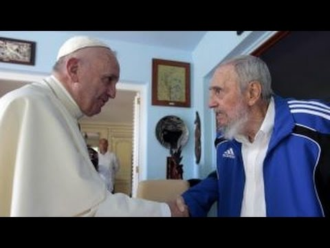 Pope Francis expresses 'grief and sorrow' for Castro's death