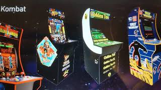 Arcade1up Announces Mortal Kombat, Golden Tee, Space Invaders and Karate Champ Arcade Machines