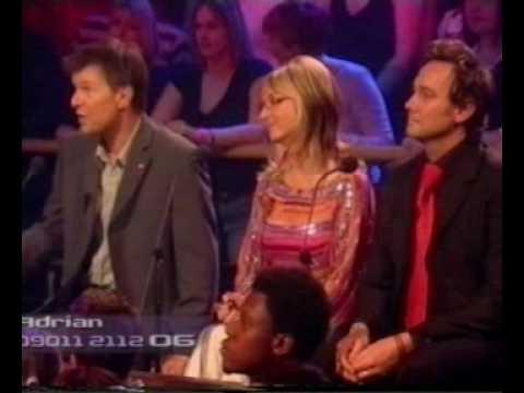 Adrian Edmondson - Fame Academy 2005 - day 7
