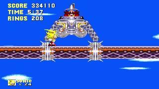 Sonic & Knuckles / VUELVE SUPER SONIC / Nivel 2 / Sega Genesis