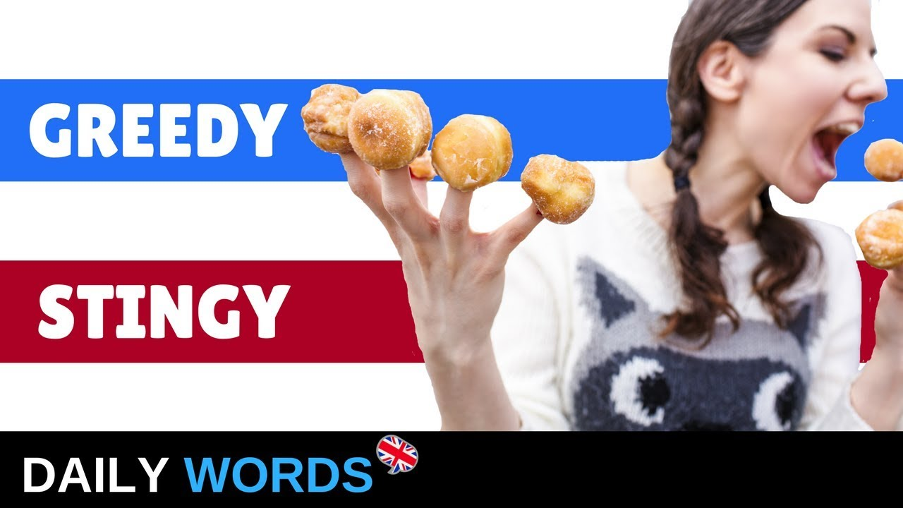 Download IMPROVE Your ENGLISH Vocabulary: GREEDY vs. STINGY
