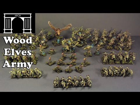 Possible Total War:Warhammer Factions The Wood Elves Army