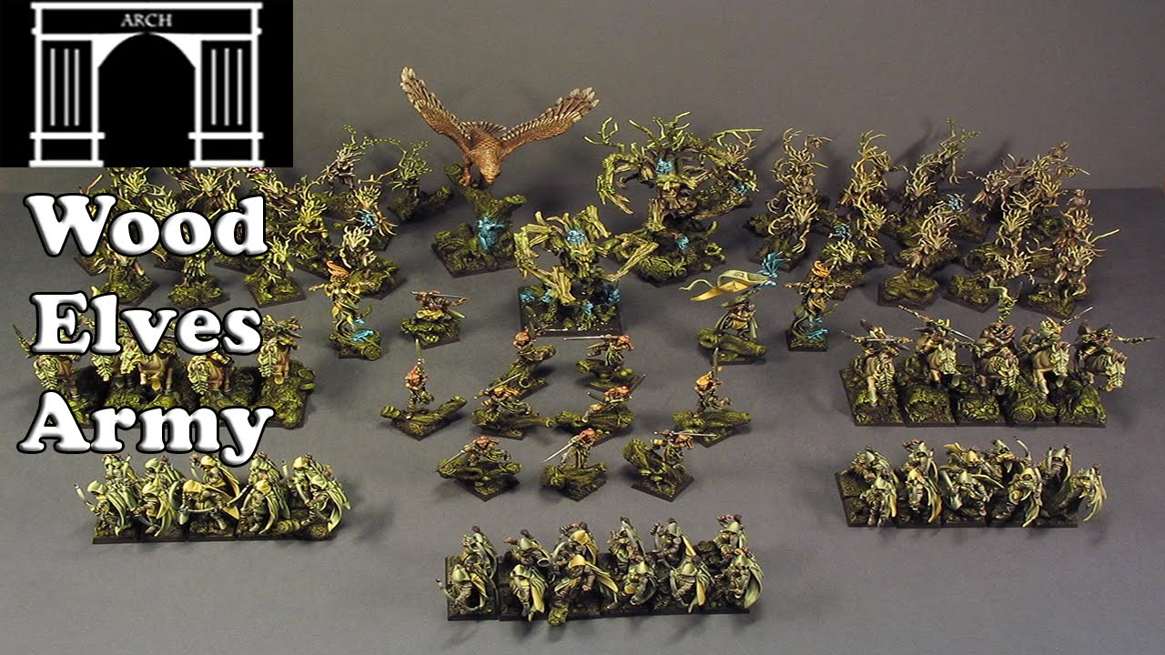 Possible Total War Warhammer Factions The Wood Elves Army