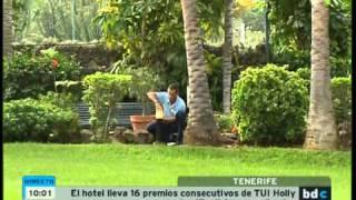Hotel Tigaiga en Televisión Canaria