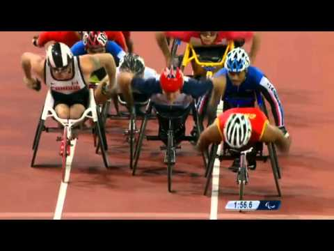 David Weir Wins 1500 Meters - London 2012 Paralympic Games