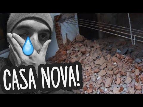 MEU DEUS, DERRUBARAM AS PAREDES DA MINHA CASA NOVA!