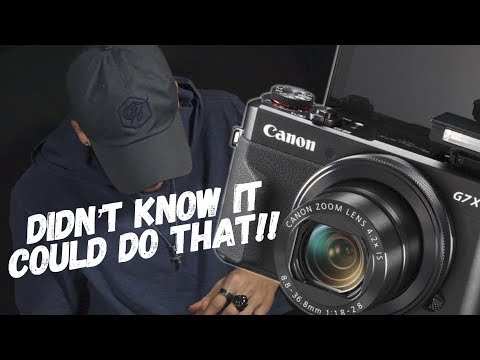 THE BEST Canon G7x mark ii unboxing / review and test-demo