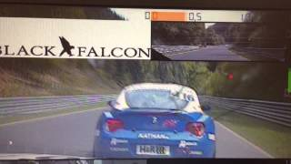 Repeat youtube video Almost crash at Nürburgring Nordschleife BMW Z4 3.0 Si