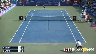 2015BusanOpen Final CHUNG, Hyeon(KOR) vs LACKO, Lukas(SVK) 1set