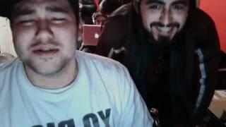 Impersonating Afrojack & Steve Aoki