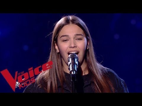 Jacques Brel - Quand On A Que L'amour | Manon |  The Voice Kids France 2019 | Demi-finale