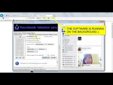 How To Auto Wall Post,  Mass Friend Request, & Send Message To All Fb Group Members